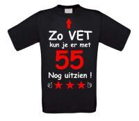 Zo vet kun je er met 55 jaar nog uitzien T-shirt