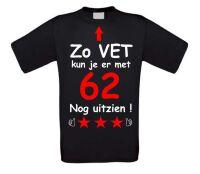 Zo vet kun je er met 62 jaar nog uitzien T-shirt