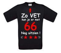 Zo vet kun je er met 66 jaar nog uitzien T-shirt