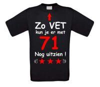 Zo vet kun je er met 71 jaar nog uitzien T-shirt