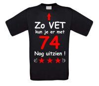 Zo vet kun je er met 74 jaar nog uitzien T-shirt