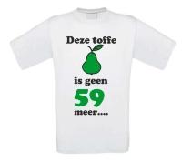 Deze toffe peer is geen 59 meer shirt