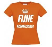 Fijne Koningsdag shirt