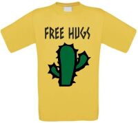 Free hugs cactus shirt