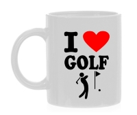 I love golf beker