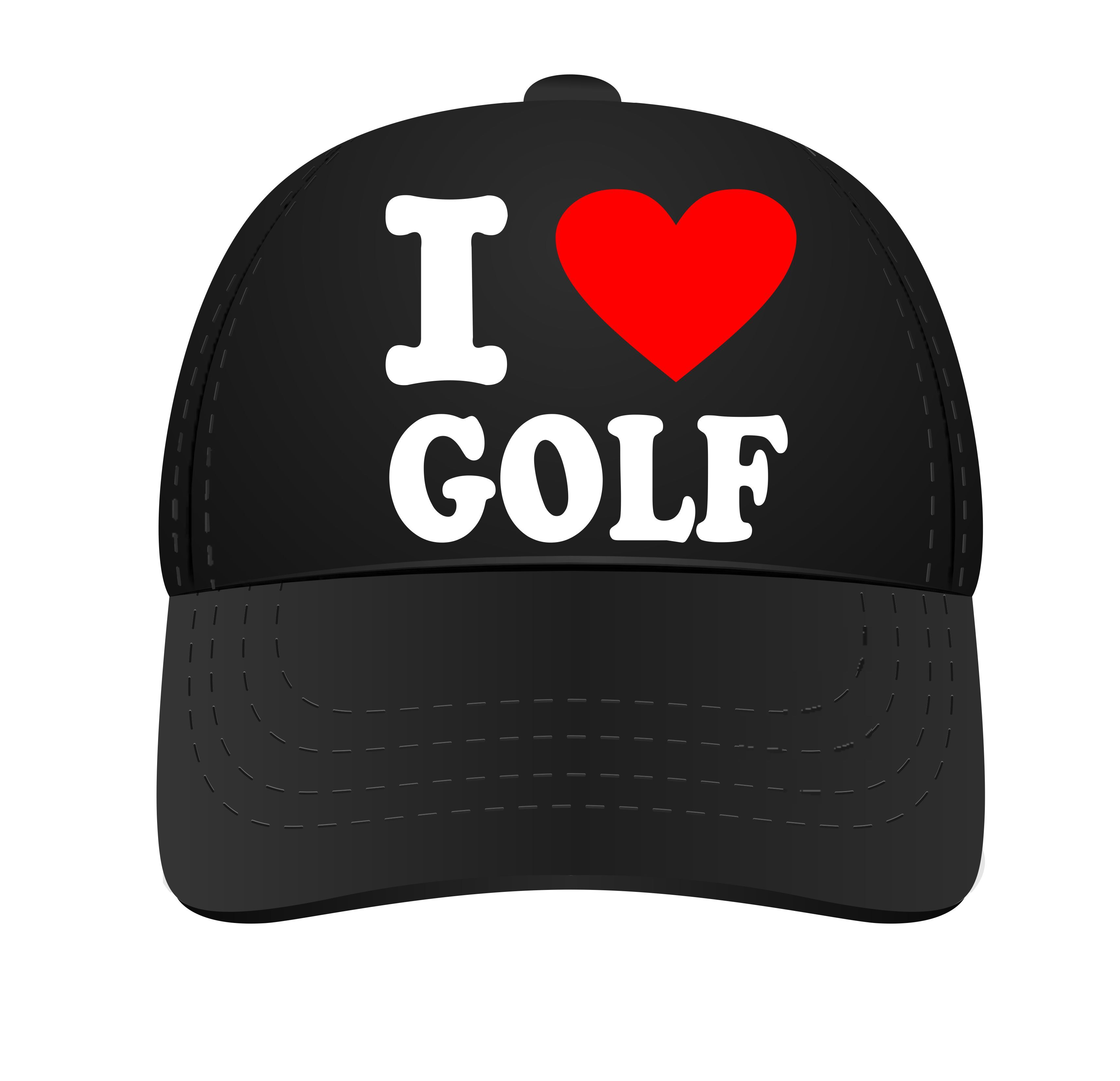I love golf cap