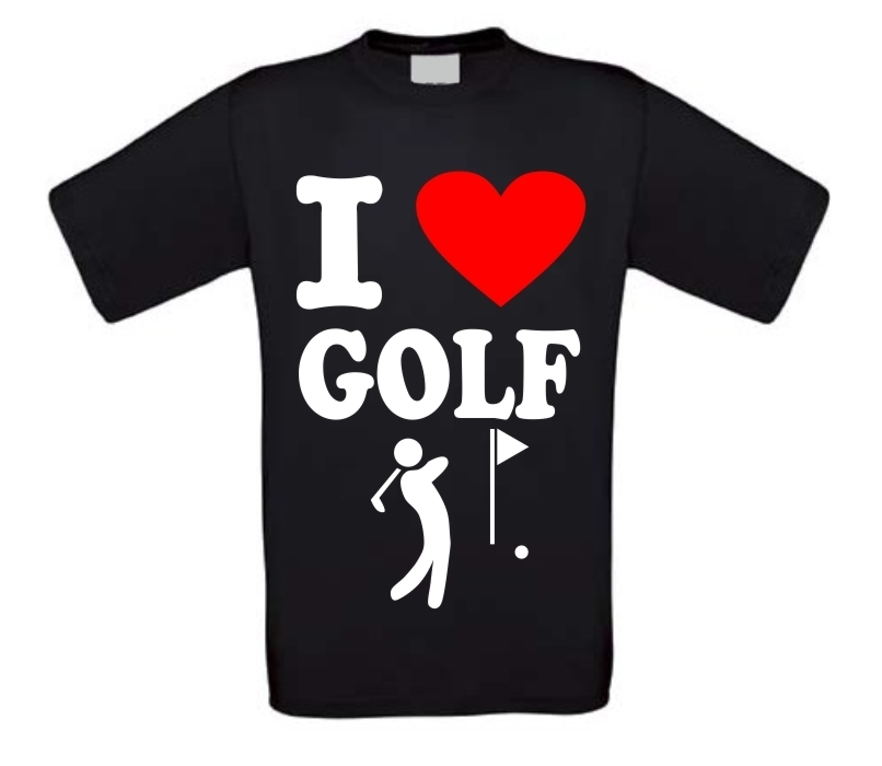 I love golf shirt