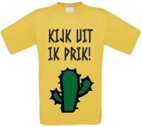 Kijk uit ik prik cactus shirt