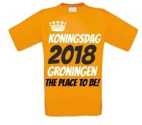 Koningsdag 2018 Groningen shirt
