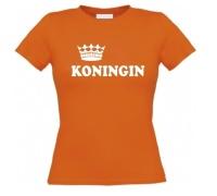 Koningsdag koningin shirt