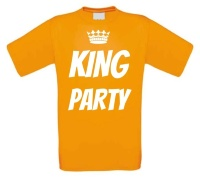 Koningsdag shirt king party