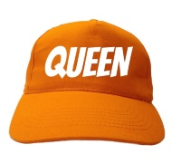 Queen pet oranje