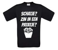 Schatje zin in een patatje? shirt