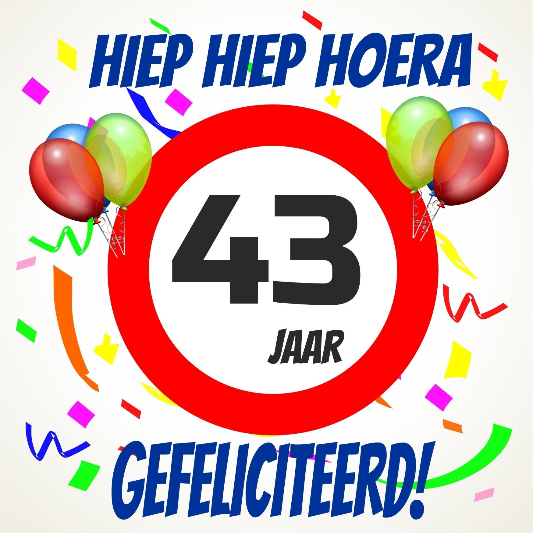 43 jaar Gefeliciteerd 43 Jaar   ARCHIDEV 43 jaar