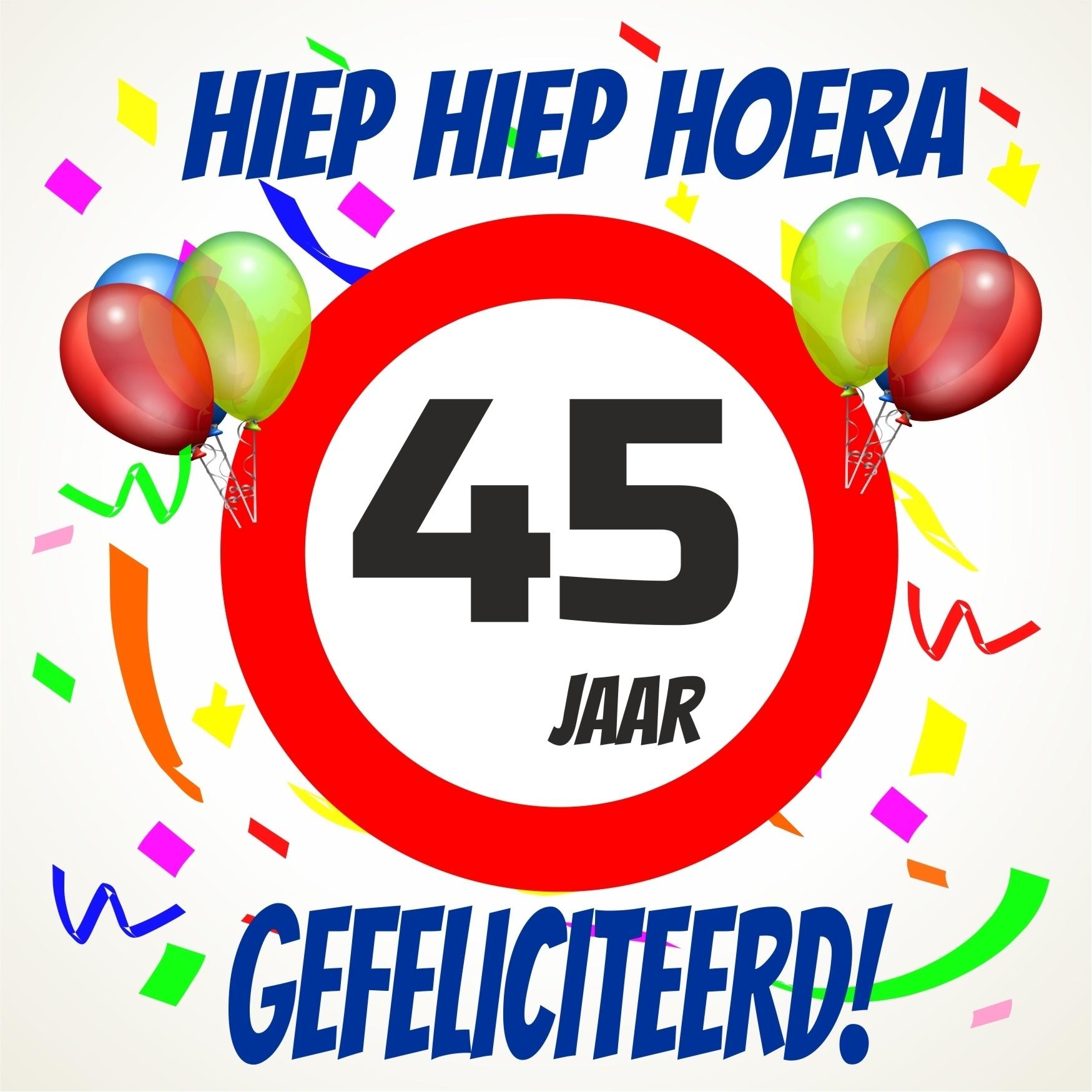 45 jaar gefeliciteerd Gefeliciteerd 45 Jaar   ARCHIDEV 45 jaar gefeliciteerd