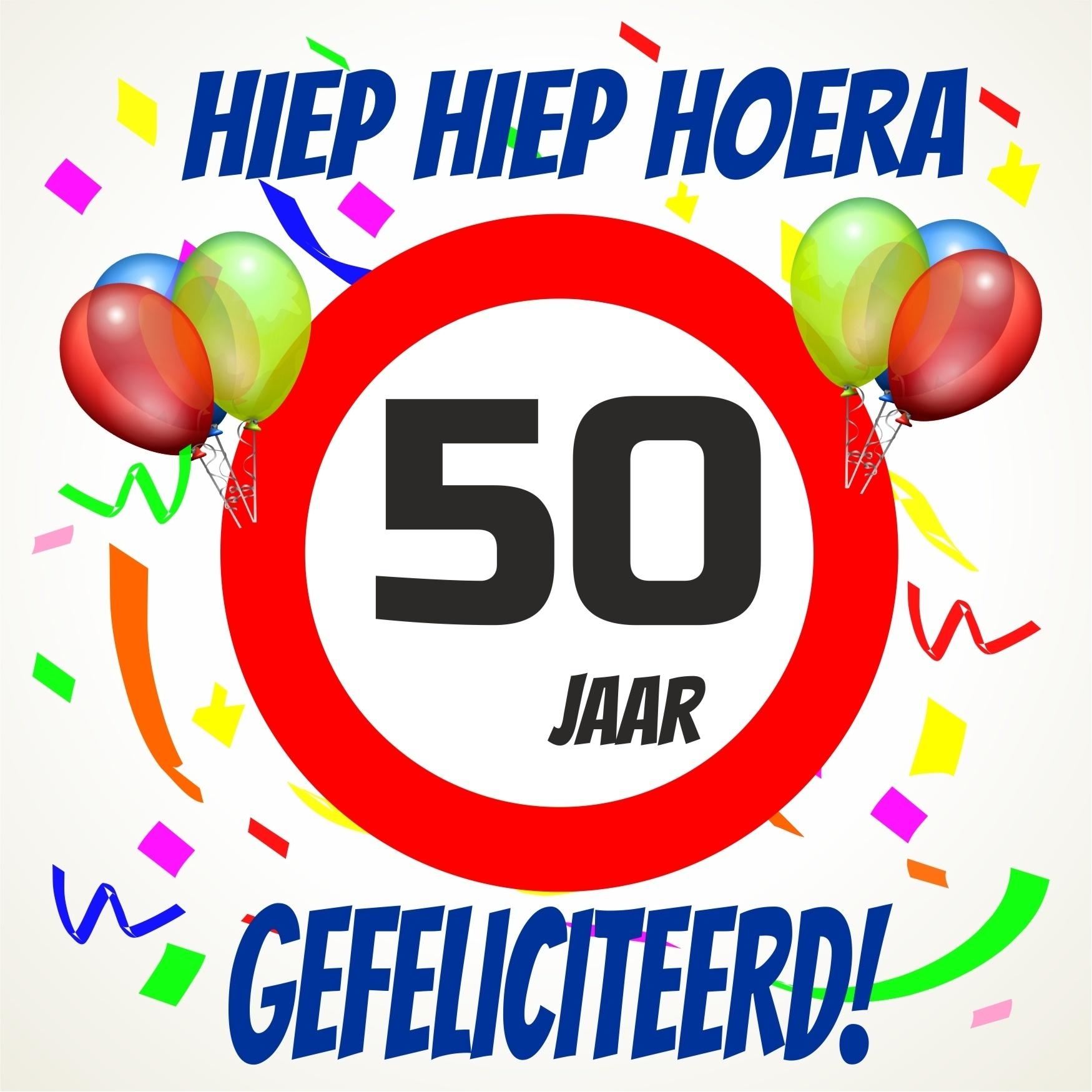 hoera 50 jaar 50 Jaar Gefeliciteerd   ARCHIDEV hoera 50 jaar