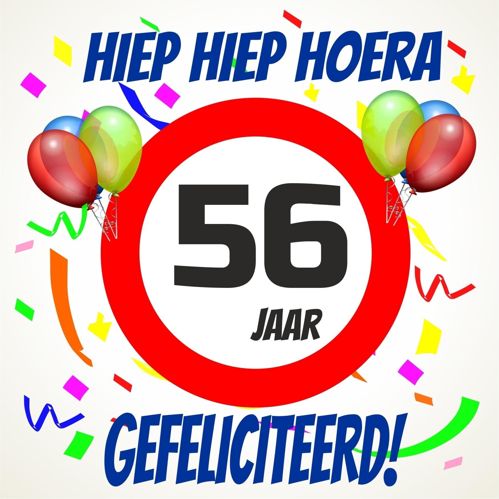 56 Jaar Gefeliciteerd