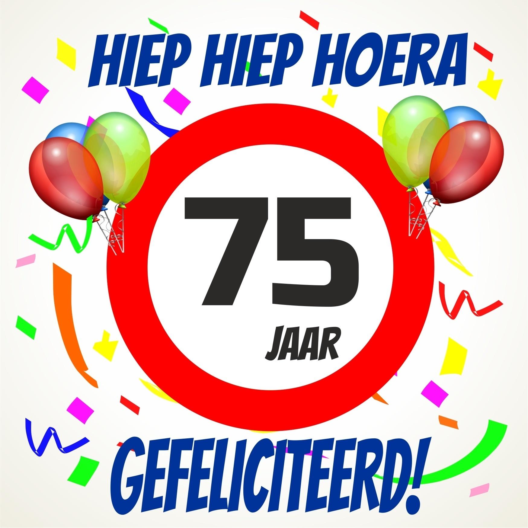 gefeliciteerd 75 jaar 75 Jaar Gefeliciteerd   ARCHIDEV gefeliciteerd 75 jaar
