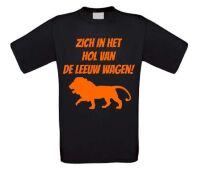 Zich in het hol van de leeuw wagen shirt