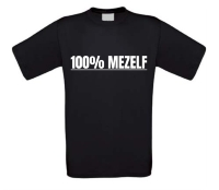100 procent mezelf shirt
