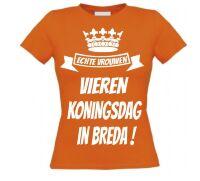 Echte vrouwen vieren Koningsdag in Breda