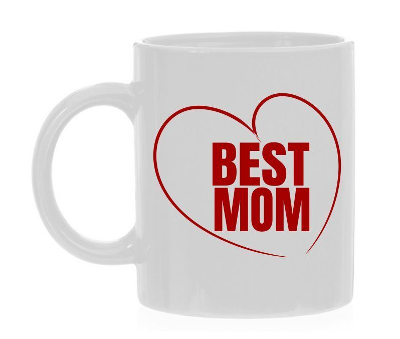 Moederdag mok best mom