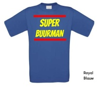 Super buurman t-shirt