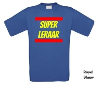 Super leraar t-shirt