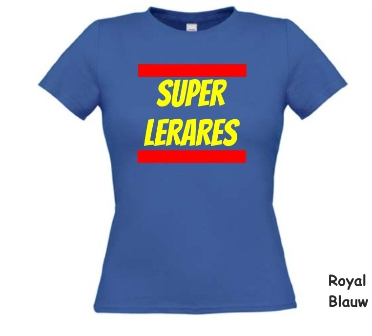 super lerares t-shirt