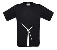 Windmolen windturbine shirt