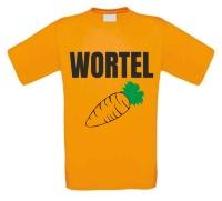 Wortel oranje shirt
