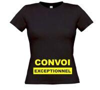 Convoi exceptionnel zwanger T-shirt
