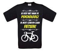 Grappig fiets T-shirt