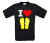 foto 2 I love teenslippers T-shirt