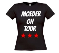 Moeder on tour shirt