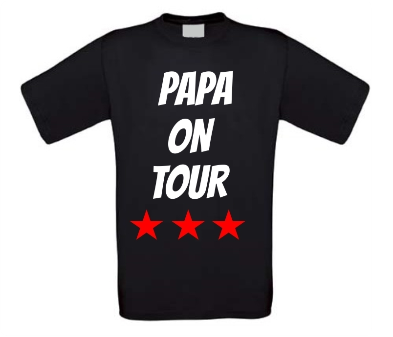 Papa on tour shirt