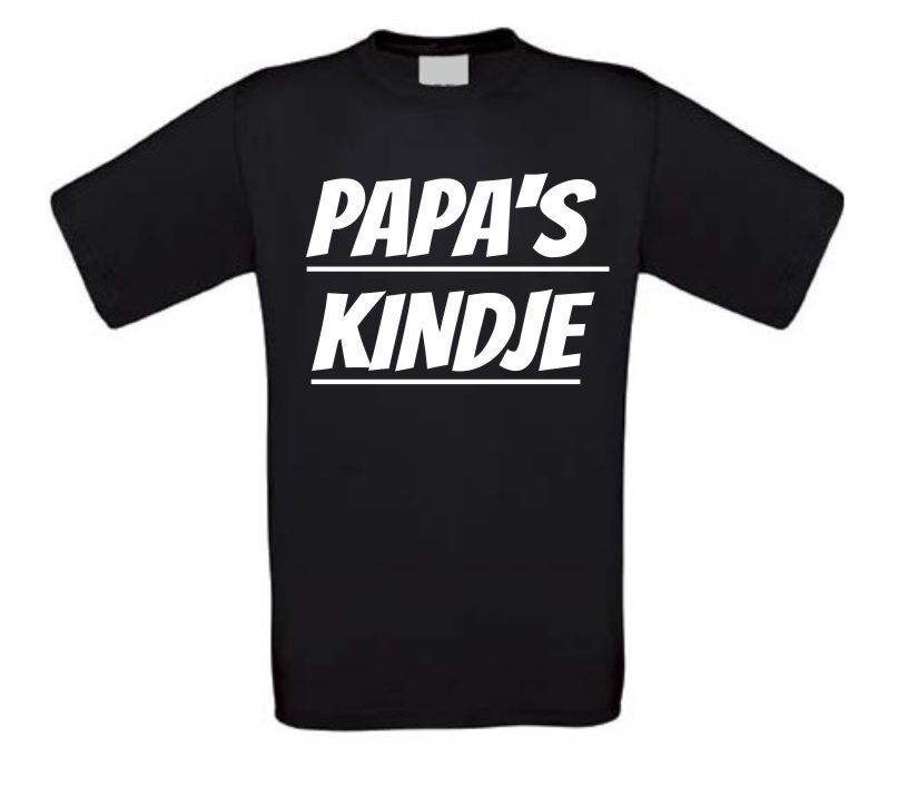 Papa's kindje t-shirt