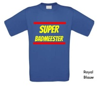 Super badmeester shirt