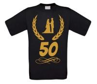 50 jaar huwelijk T-shirt