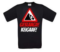 Geslaagd keigaaf T-shirt