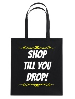 Shop till you drop katoenen tas