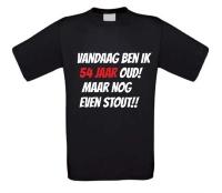 54 jaar oud verjaardag shirt