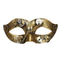 Brons steampunk masker Meachanisch