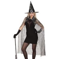 Heksen set volwassen dame zwart Caroline