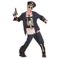 Zombie politie officier jongen Ray jongen kostuum