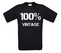 100 procent vintage T-shirt