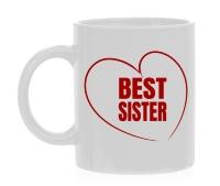 Best sister beker