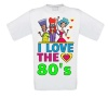 Fout T-shirt I love the eighties