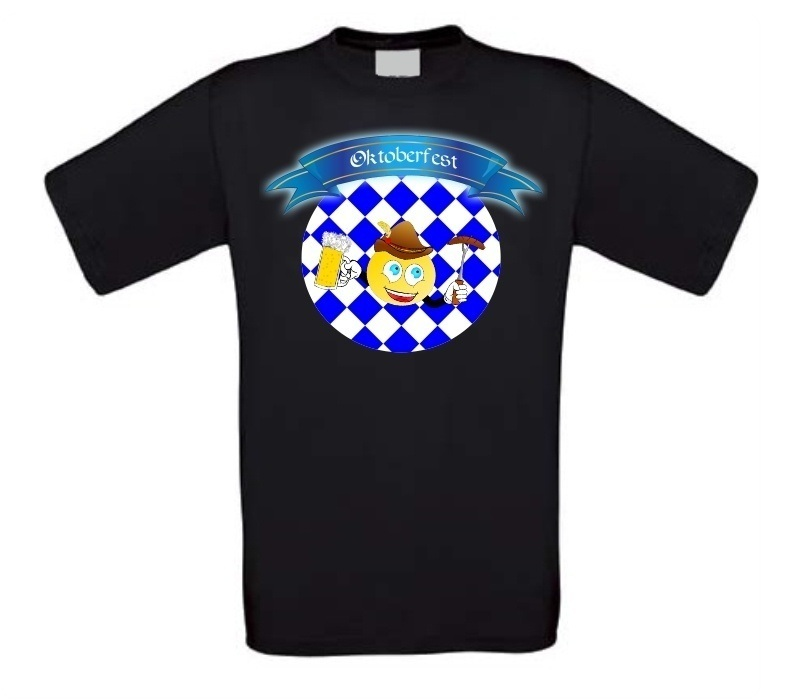 Grappig oktoberfeest t-shirt