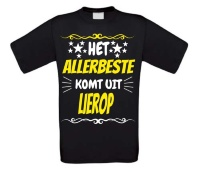Grappig shirt over de plaats Lierop